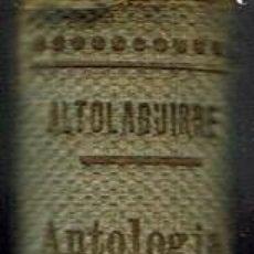 Libros antiguos: ANTOLOGÍA DE LA POESÍA ROMÁNTICA ESPAÑOLA, POR MANUEL ALTOLAGUIRRE. AÑO 1933. (15.1). Lote 102490943