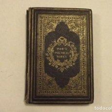 Libros antiguos: POE'S POETICAL WORKS, 1859, PRIMERA EDICIÓN EN LONDRES. Lote 102648399