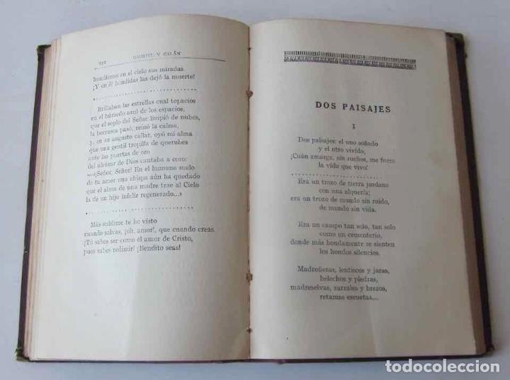Libros antiguos: OBRAS COMPLETAS DE GABRIEL Y GALAN - 2 TOMOS - Foto 11 - 103066827