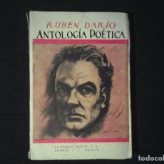 Libros antiguos: ANTOLOGIA POETICA, RUBEN DARIO, ED PUEYO 1934. Lote 103529111