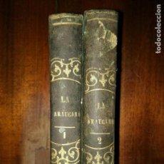 Libros antiguos: LA ARAUCANA. POEMA DE ALONSO DE ERCILLA Y ZÚÑIGA. TRES TOMOS EN DOS VOLÚMENES. 1845. Lote 103978715