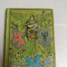 Libros antiguos: LIBRO TRES POESIAS - BIBL. ARTE Y LETRAS ED. DOMENECH AÑO 1883 ALTAMENTE ILUSTRADO. Lote 103982739