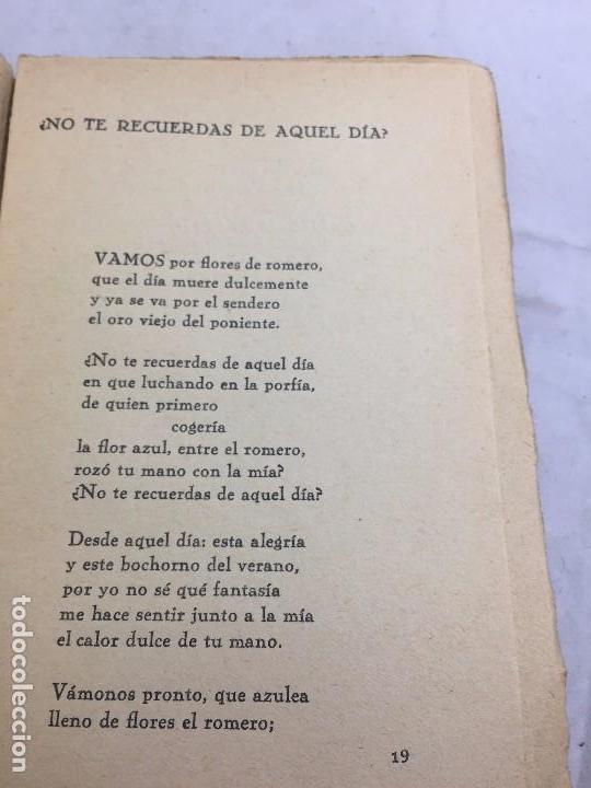 Libros antiguos: 1º edición José María Pemán A la rueda rueda Cancionero Mundo Latino Madrid 1929 - Foto 5 - 104064499