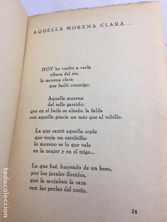 Libros antiguos: 1º edición José María Pemán A la rueda rueda Cancionero Mundo Latino Madrid 1929 - Foto 6 - 104064499