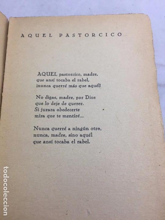 Libros antiguos: 1º edición José María Pemán A la rueda rueda Cancionero Mundo Latino Madrid 1929 - Foto 7 - 104064499