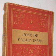 Livres anciens: 1940 POESIAS - JOSE DE VALDIVIESO *. Lote 104356171