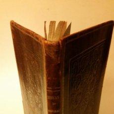 Libros antiguos: 1867 - EMILIA CALÉ Y TORRES DE QUINTERO - HORAS DE INSPIRACIÓN - 1ª ED., DEDICATORIA, LUGO. Lote 104634867