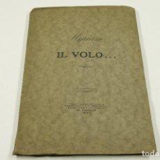 Libros antiguos: MYRIAM IL VOLO... ARMONIE, S. PAULO, 1927, DEDICADO. 16,5X24CM. Lote 104774971