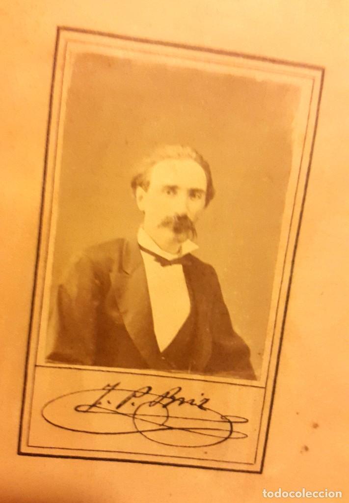 Libros antiguos: LAS BALADAS - 1878 - FRANCESCH PELAY BRIZ - CON FOTOGRAFIA ALBUMINA FIRMADA. - Foto 3 - 104973087