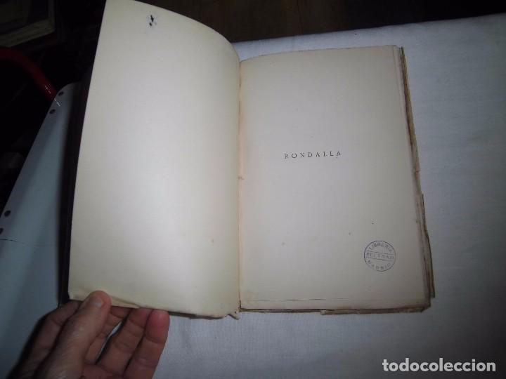 Libros antiguos: RONDALLA POEMA DRAMATICO POPULAR.SERAFIN Y JOAQUIN ALVAREZ QUINTERO.MADRID 1929.-1ª EDICION - Foto 2 - 104981203