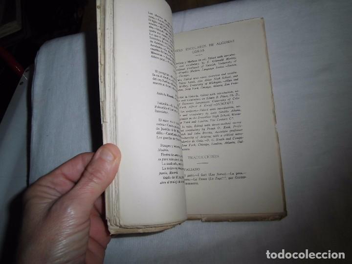 Libros antiguos: RONDALLA POEMA DRAMATICO POPULAR.SERAFIN Y JOAQUIN ALVAREZ QUINTERO.MADRID 1929.-1ª EDICION - Foto 5 - 104981203