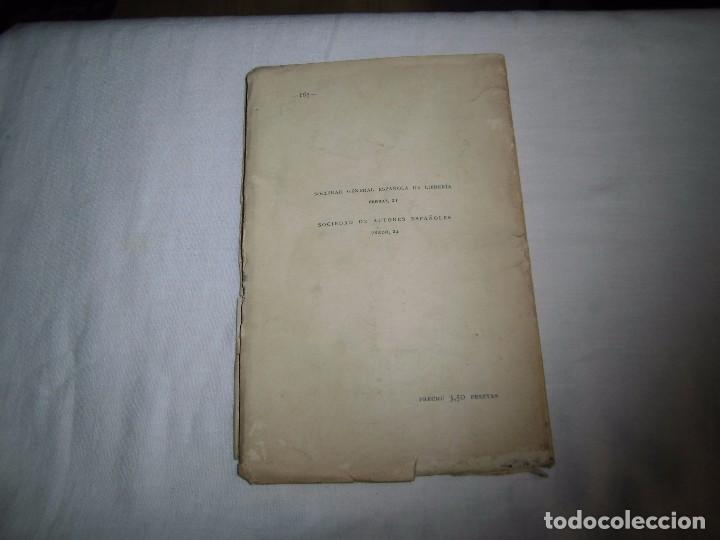 Libros antiguos: RONDALLA POEMA DRAMATICO POPULAR.SERAFIN Y JOAQUIN ALVAREZ QUINTERO.MADRID 1929.-1ª EDICION - Foto 8 - 104981203