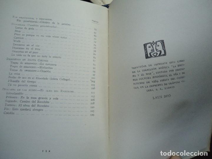 Libros antiguos: Angel en el país del águila. 1954 Martínez Baigorri P. Angel - Foto 6 - 106092007