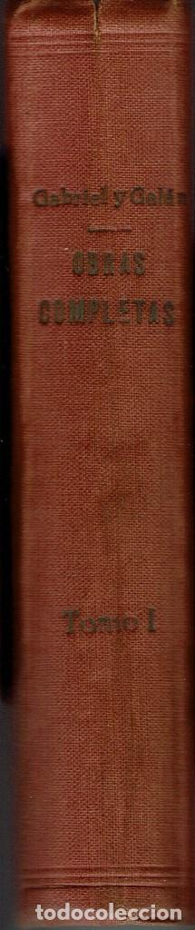 Libros antiguos: OBRAS COMPLETAS, POR JOSÉ MARÍA GABRIEL Y GALÁN. DOS TOMOS. AÑO 1924 (14.1) - Foto 3 - 106123443