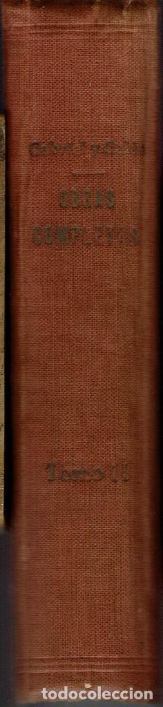 Libros antiguos: OBRAS COMPLETAS, POR JOSÉ MARÍA GABRIEL Y GALÁN. DOS TOMOS. AÑO 1924 (14.1) - Foto 7 - 106123443