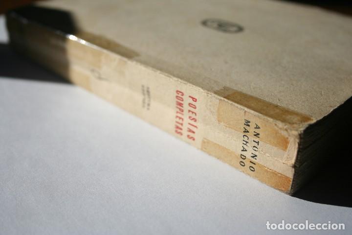 Libros antiguos: Poesías Completas de Antonio Machado - 7ª Edición, Espasa-Calpe, 1955 - Foto 2 - 106582731