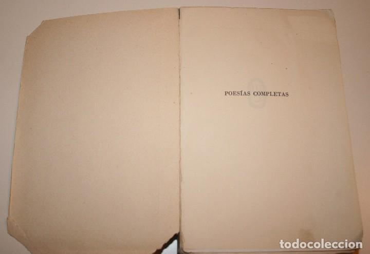Libros antiguos: Poesías Completas de Antonio Machado - 7ª Edición, Espasa-Calpe, 1955 - Foto 3 - 106582731