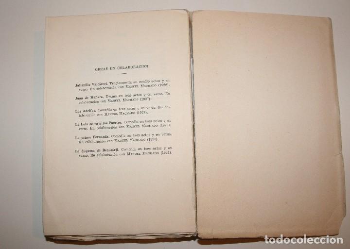 Libros antiguos: Poesías Completas de Antonio Machado - 7ª Edición, Espasa-Calpe, 1955 - Foto 5 - 106582731