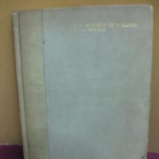 Libros antiguos: THE SONNETS OF WILLIAM SHAKESPEARE. NUMERADO 515 / 1000. LONDON 1913.. Lote 107977771