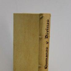 Libros antiguos: VEGA Y CARPIO, FÉLIX LOPE DE. RIMAS HUMANAS Y DIVINAS, DEL LICENCIADO TOME DE BURGUILLOS. 1674.. Lote 109024340