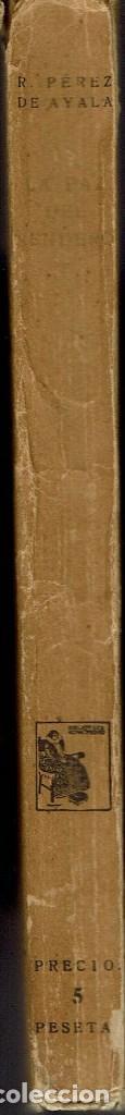 Libros antiguos: LA PAZ DEL SENDERO, POR RAMÓN PÉREZ DE AYALA. AÑO 1924. (4.2) - Foto 3 - 109266707