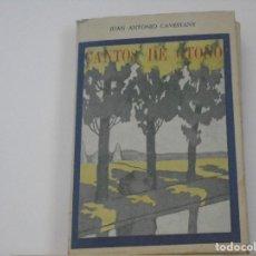 Libros antiguos: CANTOS DE OTOÑO. Lote 109352987