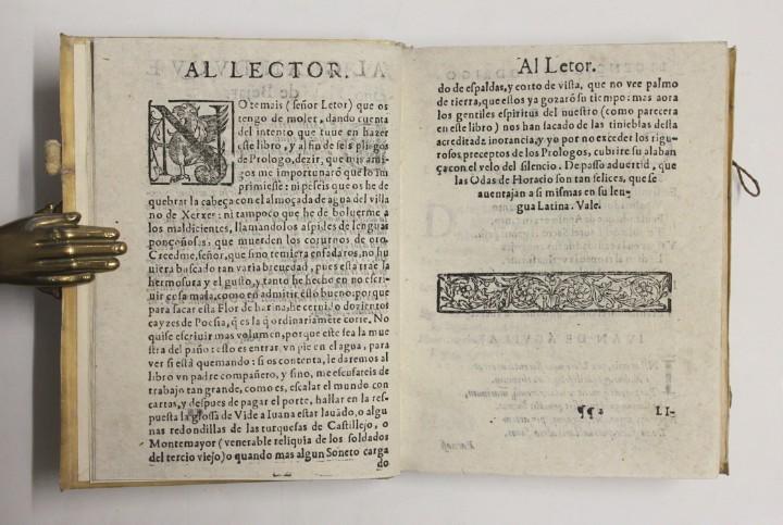 Libros antiguos: PRIMERA PARTE DE LAS FLORES DE POETAS ILUSTRES DE ESPAÑA, dividida en dos libros. Ordenada por... Di - Foto 3 - 109021994