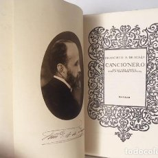 Libros antiguos: F. DE ICAZA : CANCIONERO DE LA VIDA HONDA Y DE LA EMOCIÓN FUGITIVA. (1ª ED. 1920. Lote 110158747