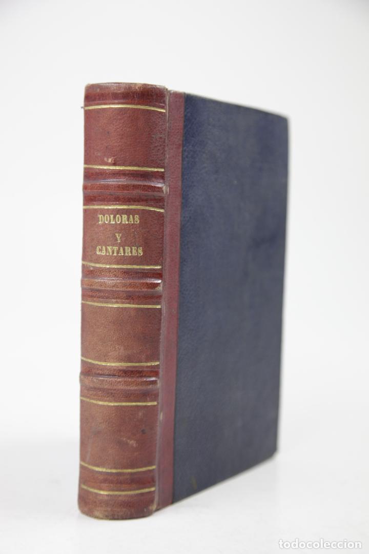DOLORAS Y CANTARES, RAMON DE CAMPOAMOR, 1866, MADRID. 12,5X18CM (Libros antiguos (hasta 1936), raros y curiosos - Literatura - Poesía)