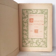 Libros antiguos: LÓPEZ ALARCÓN : CONSTELACIONES. (MÁLAGA, 1906 1ª ED.. Lote 110506039