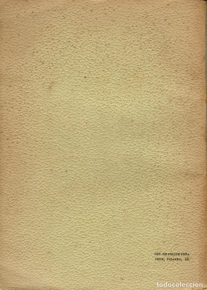 Libros antiguos: MADROÑOS, POR ENRIQUE DE LA VEGA. AÑO 1914. (5.2) - Foto 2 - 110711423