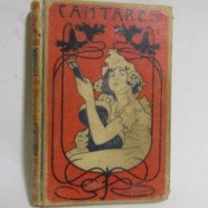 Libros antiguos: CANTARES POPULARES LITERARIOS D. MELCHOR DE PALAU EDICION ILUSTRADA MONTANER Y SIMON AÑO 1900. Lote 110754963
