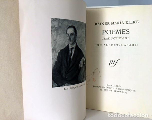 Rainer Maria Rilke Poèmes Traduction De Lou Albert Lasard Jean Cassou Tirada