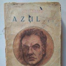 Libros antiguos: RUBÉN DARÍO: AZUL. OBRAS COMPLETAS XVI. Lote 112840351
