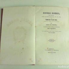Libros antiguos: AUSIÀS MARCH. FRANCESCH PELAYO BRIZ. BARCELONA. 1864.. Lote 112857695