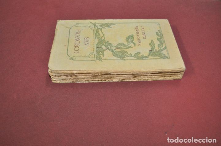 Libros antiguos: san francisco , sant francesch - jacinto verdaguer - català castellano año 1909 - APSBG - Foto 4 - 113317035
