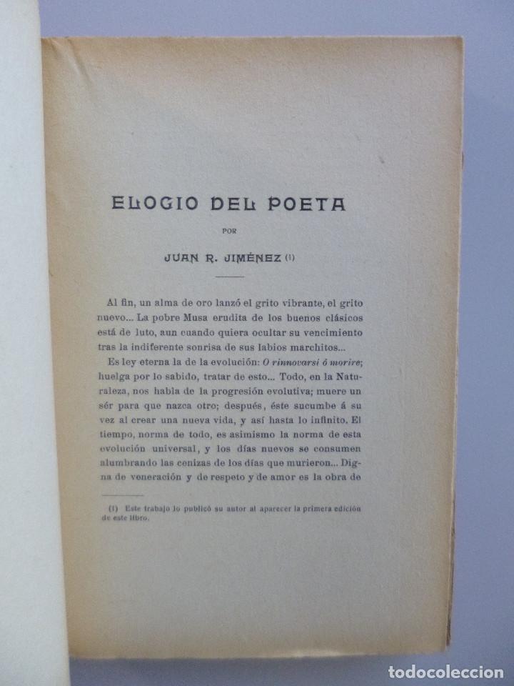 Libros antiguos: FRANCISCO VILLAESPESA // LA COPA DEL REY DE THULE // 1909 // PRÓLOGO DE JUAN RAMÓN JIMÉNEZ - Foto 4 - 113323695