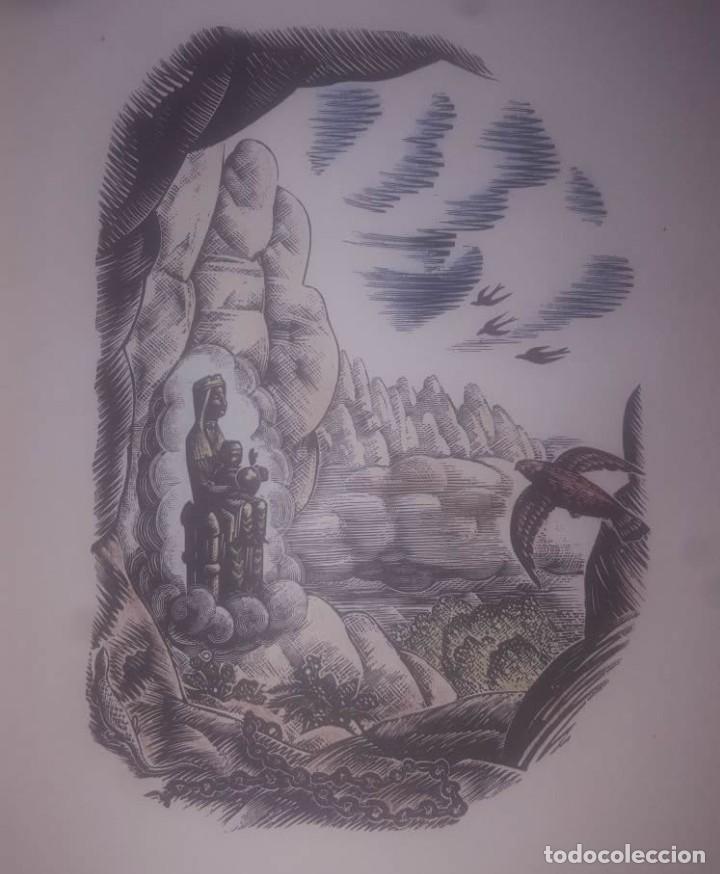 AIRES DE LLEGENDA Poema Josep Romeu Iluminado a mano - 113522259