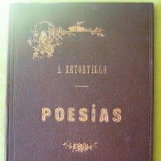 Libros antiguos: POESIAS_ ANTONIO RETORTILLO Y VIVANCO (1893). Lote 114142079