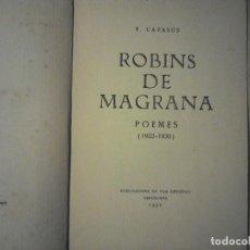 Libros antiguos: ROBINS DE MAGRANA T. CATASUS. Lote 114439879