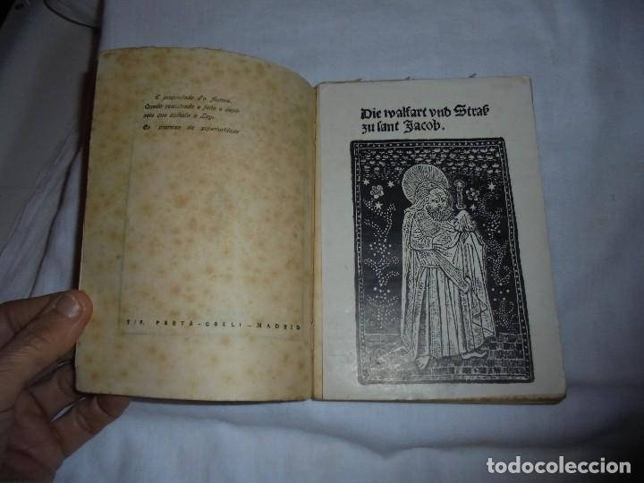 Libros antiguos: ROMANCEIRO COMPOSTELAN.AVELINO GOMEZ LEDO.CON DIBUXO E VIÑETAS MADRID 1926.-1ª EDICION - Foto 3 - 115193999