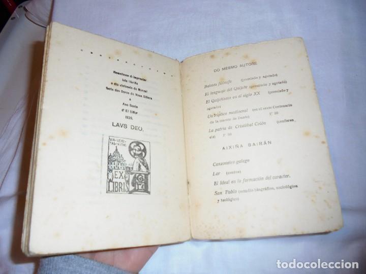 Libros antiguos: ROMANCEIRO COMPOSTELAN.AVELINO GOMEZ LEDO.CON DIBUXO E VIÑETAS MADRID 1926.-1ª EDICION - Foto 9 - 115193999