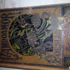 Libros antiguos: ANTIGUO LIBRO DE POESIAS ESCOGIDAS DE R.CAMPOAMOR (1883). Lote 116292215