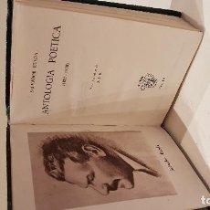 Libros antiguos: RUEDA (SALVADOR). ANTOLOGIA POETICA. . Lote 116332615