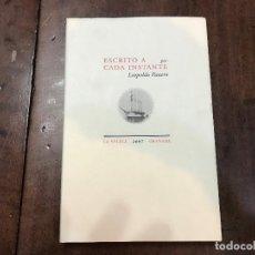 Libros antiguos: ESCRITO A CADA INSTANTE -LEOPOLDO PANERO. Lote 117000155