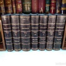 Libros antiguos: OBRAS COMPLETAS DE D. ÁNGEL SAAVEDRA - DUQUE DE RIVAS -7 TOMOS - FIRMADO POR EL HIJO DEL DUQUE-1894 . Lote 117009739