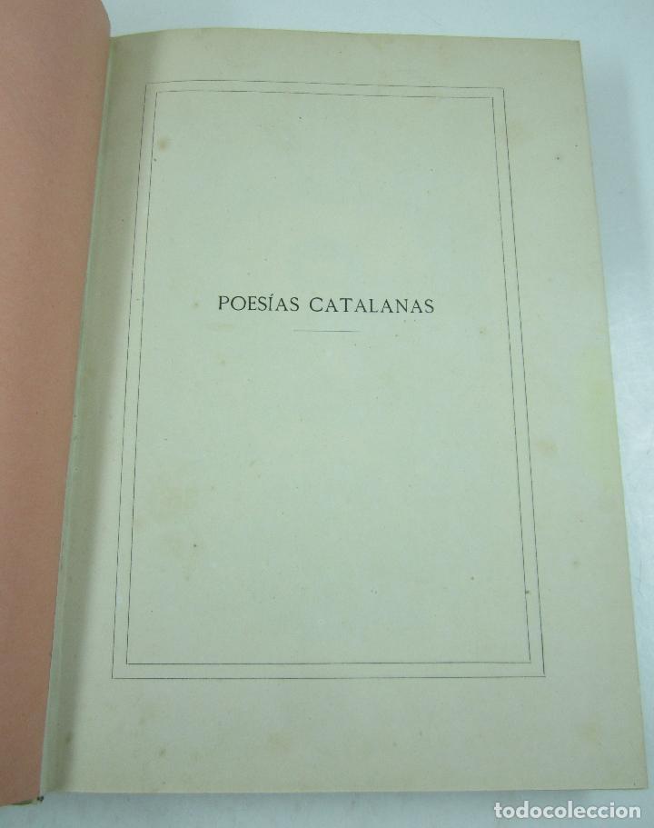 Libros antiguos: Poesias catalanas de Frederich Soler (Serafí Pitarra), ilustradas, 1875, Barcelona. 21x28,5cm - Foto 4 - 117721979