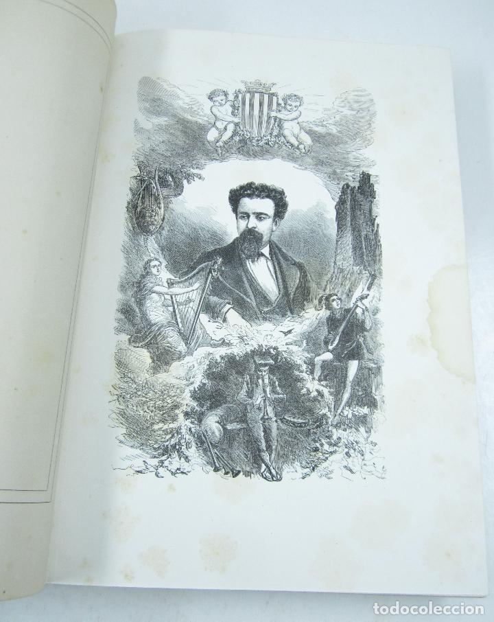 Libros antiguos: Poesias catalanas de Frederich Soler (Serafí Pitarra), ilustradas, 1875, Barcelona. 21x28,5cm - Foto 5 - 117721979