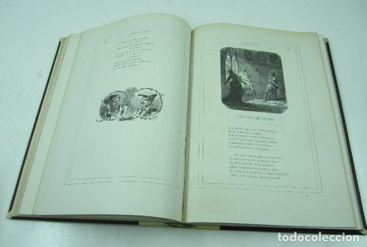 Libros antiguos: Poesias catalanas de Frederich Soler (Serafí Pitarra), ilustradas, 1875, Barcelona. 21x28,5cm - Foto 8 - 117721979