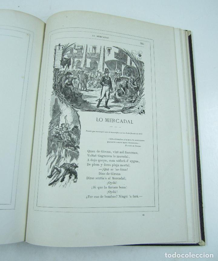 Libros antiguos: Poesias catalanas de Frederich Soler (Serafí Pitarra), ilustradas, 1875, Barcelona. 21x28,5cm - Foto 9 - 117721979